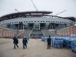 Строительство стадиона «Зенита»: рабочим задолжали 14 млн рублей