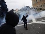Радикалы захватили офис партии СИРИЗА вАфинах