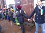 ВПетербурге вовремя акции вподдержку Савченко задержали 5 человек