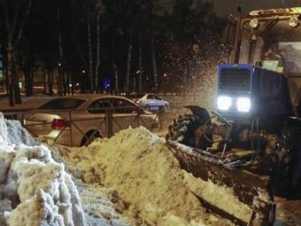 ВХабаровске сильнейший снегопад, объявлен режимЧС