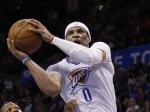 Трипл-дабл Уэстбрука помог «Оклахоме-Сити» дома обыграть «Торонто» вматче НБА