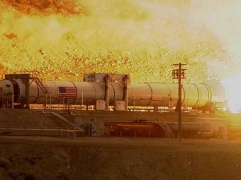 Вштатах испытали ракету для полетов наМарс