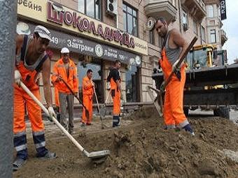 Москвичи возмущены укладкой плитки на улицах