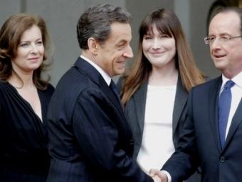 Экс-подругу Олланда обвинили врукоприкладстве