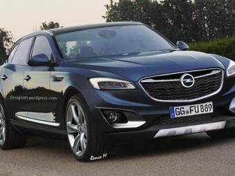 Всети опубликован первый рендер будущего кроссовера Opel