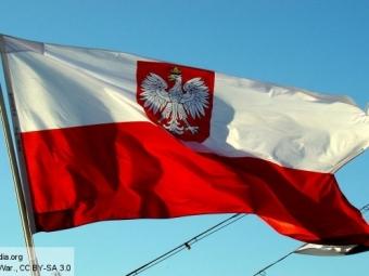 Министр обороны Польши перепутал лампу смикрофоном