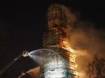 ВстолицеРФ горел Новодевичий монастырь