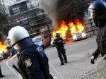 Антикапиталисты устроили вГермании массовые беспорядки
