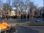 Глава МВД Германии: нельзя сравнивать Майдан исобытия воФранкфурте