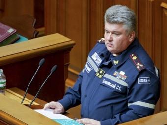 Глава ГосЧС Бочковский задержан назаседании Кабмина