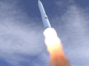 Испытания межконтинентальную ракеты Minuteman III