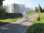 В Петербурге рядом с жилыми домами складировано 70 тыс. тонн горючего