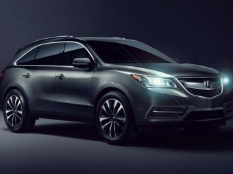 ВКанаде начались продажи Acura MDX 2016 модельного года