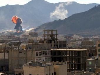 Саудовской Аравии продолжает бомбардировки Йемена