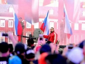 ВКалифорнии натурнир пореслингу ворвался российский танк