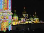 Невероятное лазерное шоу вцентре Киева: французы «зажгли» Софийский собор