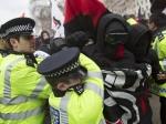 ВЛондоне произошли стычки между полицией иучастниками антиисламской акции