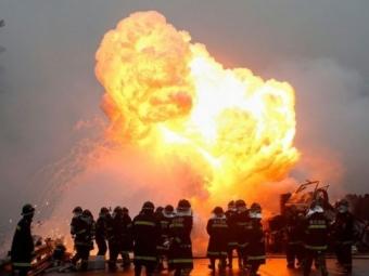 ВКитае взорвался химический завод