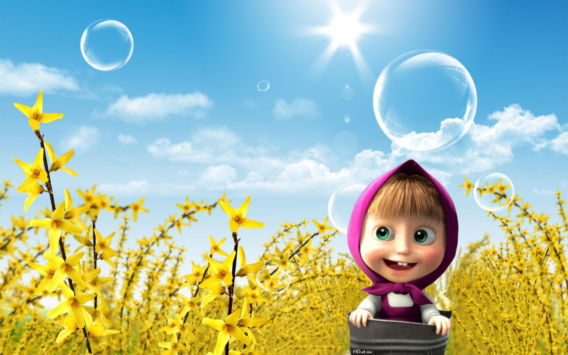 Российский мультфильм «Маша иМедведь» набрал популярность вИталии