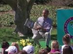 Барак Обама прочитал детскую сказку 35 тысячам американцев