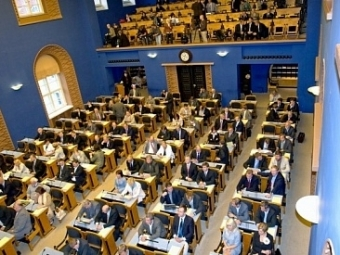Триумвират политических партий Эстонии подпишет коалиционное соглашение осоздании нового правительства