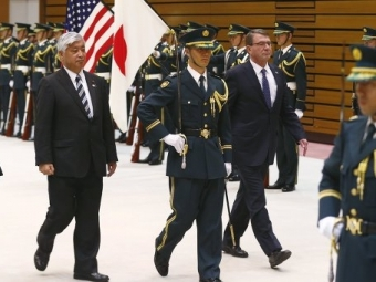В Токио проходит встреча глав оборонных ведомств США и Японии