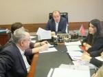 Выездное совещание по налоговым проблемам провел Андрей Дунаев