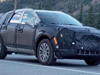 Cadillac представит свой новый кроссовер XT5 вЛос-Анджелесе