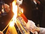 Благодатный огонь доставят вУспенский собор Смоленска вночь на12апреля