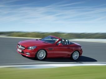 Родстер Mercedes-Benz SLK оснастили новыми двигателями