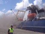 Впорту наКанарских островах произошел пожар нароссийском траулере