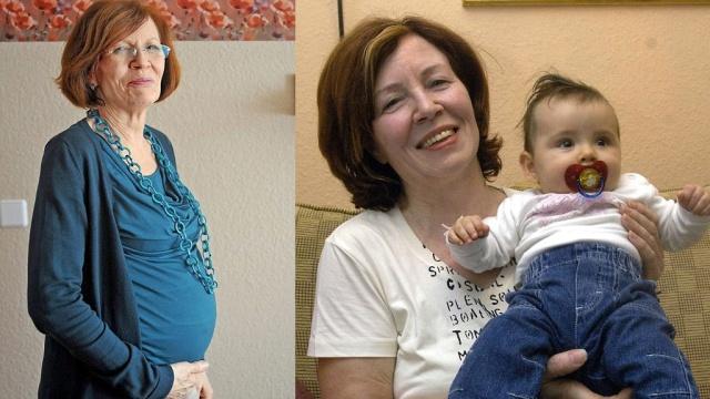ВГермании женщина 65-ти лет забеременела четырьмя младенцами