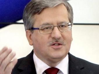 Президент Польши Коморовский попал вДТП натрамвае
