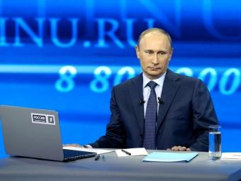 НАО, ХМАО иЯНАО игнорируют «прямую линию» спрезидентом Путиным