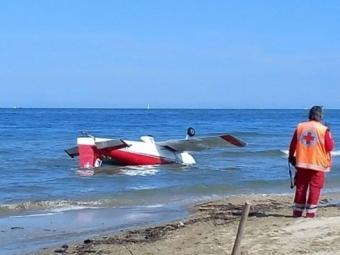 ВИталии два самолета столкнулись вовремя авиашоу