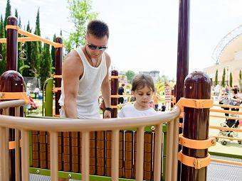 На уникальной детской площадке в Сочи «Дом Роналда Макдоналда» провел праздник
