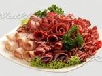 Красивое оформление мясных нарезок…