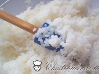 Как варить рис для роллов и суши
