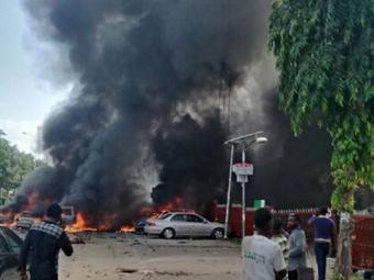 50 человек погибли при взрыве бомбы вНигерии
