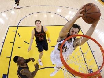 «Голден Стэйт» выиграл первый матч финальной серии НБА