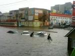 Центр Курска затопило после сильного ливня