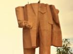 ВХарьковской области неизвестные повредили еще один памятник Ленину