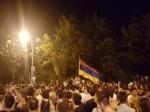 Ереванские митингующие отказались встречаться спрезидентом