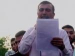 Активисты прекращают сидячую демонстрацию вцентре вЕреване