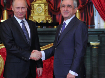 Владимир Путин провел телефонные переговоры спрезидентом Армении