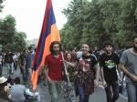 Вцентре Еревана вновь собираются протестующие