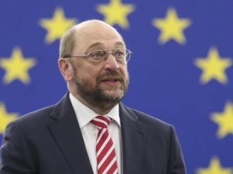 Шульц: Греция может получить «кредиты чрезвычайного положения»— Новости Европы— Шульц объявил овозможности представления Греции