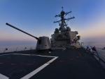 Ракетный эсминец США 5июля войдет вЧерное море