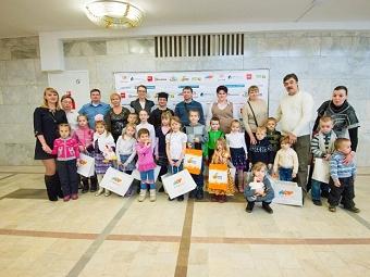 В Подольске компания TOY.RU стала спонсором Рождественской елки для детей