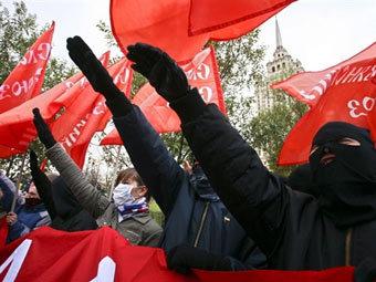 Националисты решили пройти по центру Москвы
